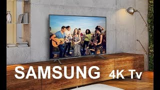 SAMSUNG Series 7 Ultra HD (4K) LED Smart TV | Unboxing and Installation