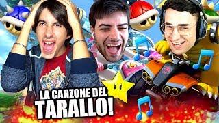 TUBERANZA CANTA LA CANZONE del TARALLO! Mario Kart 8 Deluxe Gameplay ITA