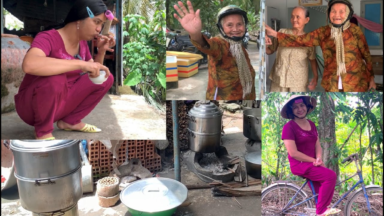 Đám giỗ miền tây | Vợ thằng Sang đem bánh ít cho khắp xóm