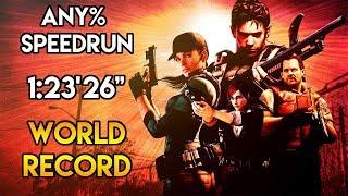 """Resident Evil 5 - NG+ Speedrun - 1:23'26"""" [World Record]"""