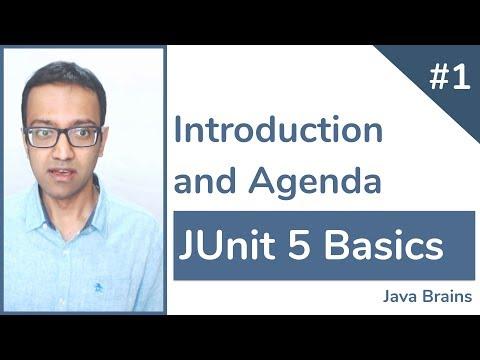 junit-5-basics-1---introduction-and-agenda