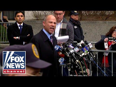 Michael Avenatti speaks after Cohen's sentencing