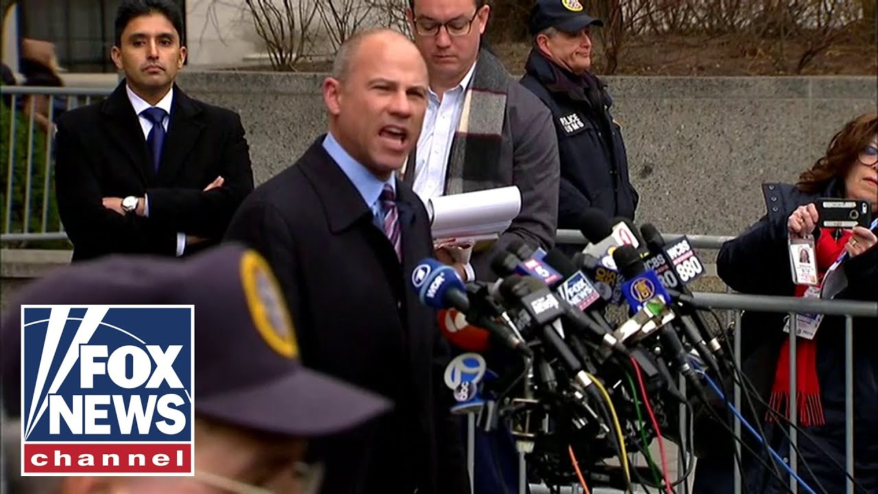 Michael Avenatti speaks after Cohen's sentencing