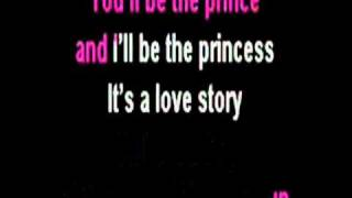 Love Story ( karaoke, with lyrics )