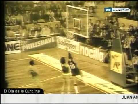"Euroleague legends: Juan Antonio San Epifanio, ""Epi"""