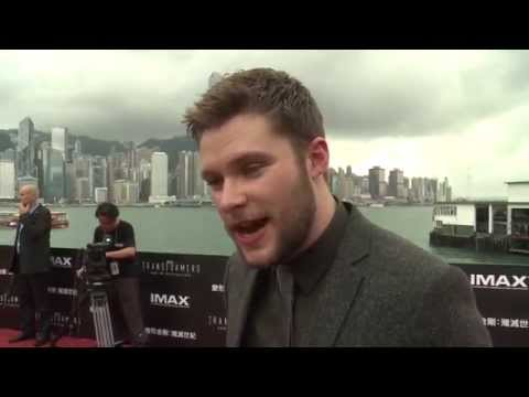 "Transformers 4: Age of Extinction: Jack Reynor ""Shane Dyson"" Red Carpet Premiere Interview"
