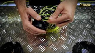 Cambio hilo nailon o tanza en desbrozadora/desmalezadora/motoguadaña
