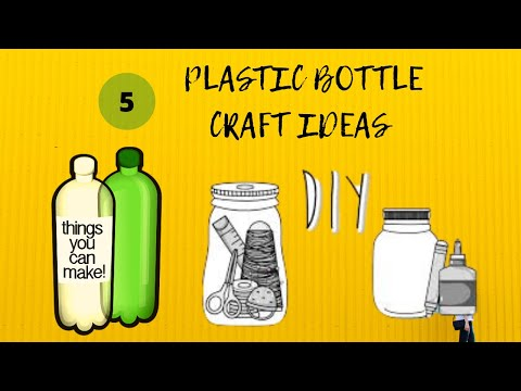 plastic-bottle-craft-ideas-for-home-decoration-|-5-min-crafts-|-decorating-ideas-easy-|-painting-|