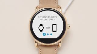 How to Connect the Fossil Q smartwatch with Android