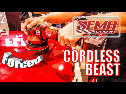 FLEX XCE 8 125 Cordless Orbital Forced Rotation Polisher Preview