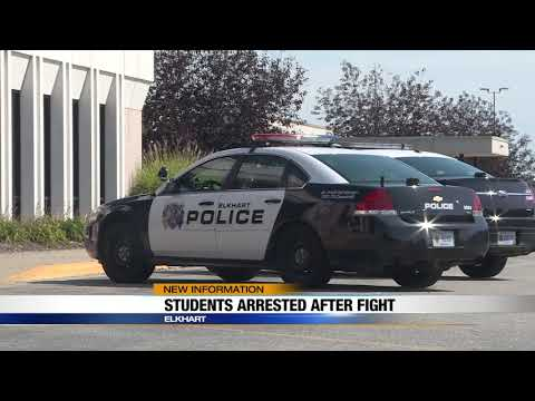 5 students arrested after fight at Elkhart Memorial High School