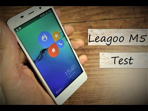 Review Leagoo M5 - geiles Teil für ~75€ - Deutsch