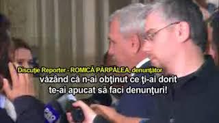 Romică Părpălea anunta ca i a turnat la DNA pe LIviu Dragnea si Carmen Dan
