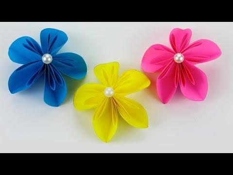 Easy Origami Paper Flowers | Flower Making | DIY