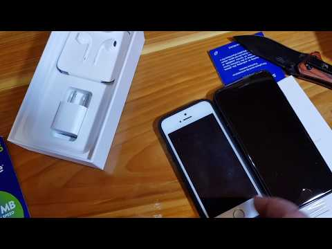 Unboxing the Tracfone iPhone 7 and setup