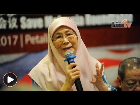 WAN AZIZAH: JIKA MAHATHIR CUKUP BAGUS BELIAU TIDAK PERLU BERTEMU ANWAR IBRAHIM (VIDEO)