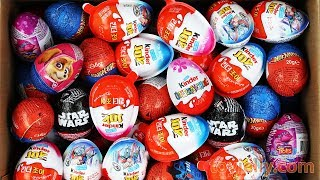 New Surprise Eggs Surprise Kinder Joy For Boys Girls Unboxing Learn Colors Baby Toys For Kids