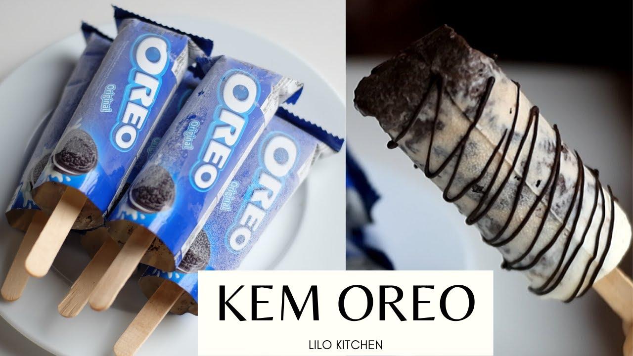 Cách Làm KEM QUE OREO Không Cần Khuôn Kem | OREO ICE STICKS | Lilo Kitchen