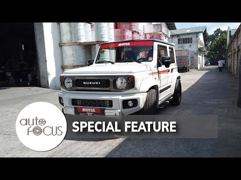 Fastest Suzuki Jimny In The PH Runs on 200hp   Special Feature