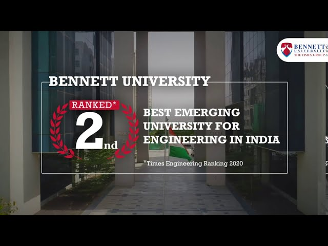 BU, ranked 2nd Best Emerging University for Engineering in India