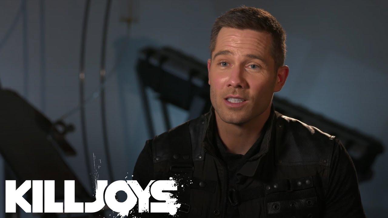 Download Killjoys Season 4 Q&A: Luke Macfarlane