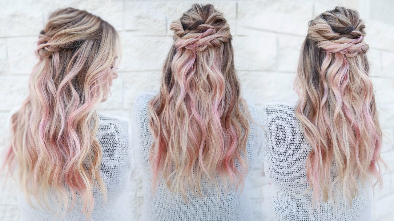 Pastel Pink Summer Hair Color Pulp Riot YouTube