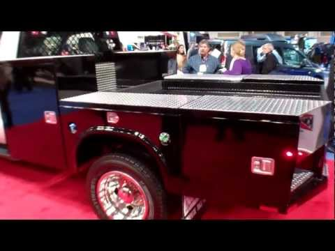 New Knapheide 9 Gooseneck Flatbed Truck Body That Acts Like A Service Body Youtube