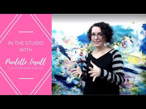 Reply: Live from my art studio in Portland, Oregon!