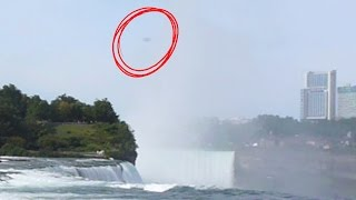 UFO Found In Niagara Falls Video U.S. Canada Border October 2014