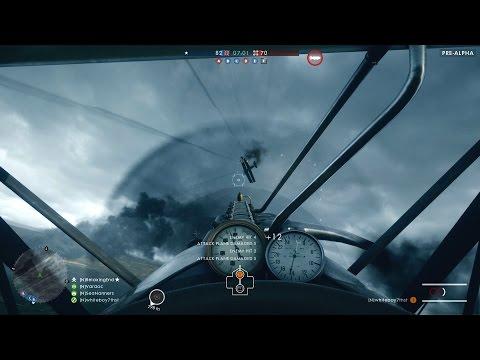 BATTLEFIELD 1 ATTACK PLANE GAMEPLAY (BF1 Airplane Gameplay, Info, Loadout, Pilots, Battlefield 1)