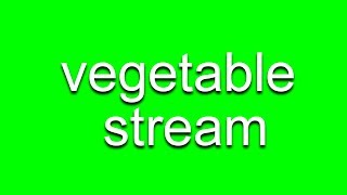Vegetable Stream w/ Nukazooka! thumbnail