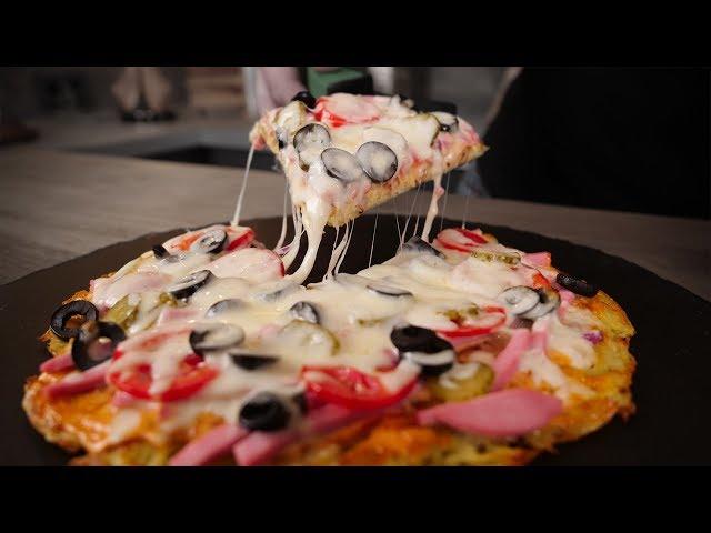 Изображение Пицца без теста за 20 минут! Хрустящая вкуснота!
