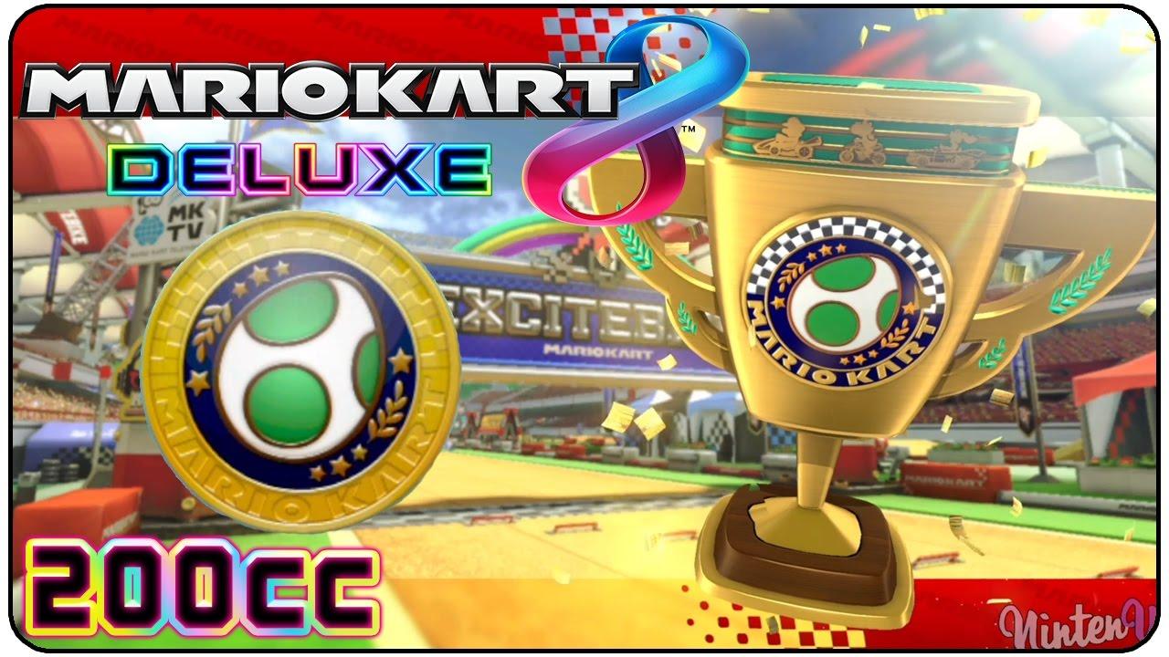 Mario Kart 8 Deluxe Egg Cup 200cc 3 Star Rank Youtube
