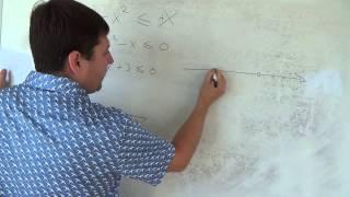 Алгебра 9 класс. 28 сентября. решение квадратных неравенств #3
