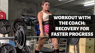 Deadlift Adjustment Based On Recovery