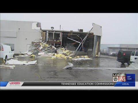 Tornado And Severe Storms Cause Damage Throughout Memphis
