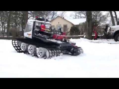 "Kyosho ""Snow Patrol"" Blizzard Rig Review and Snow Bash Session"