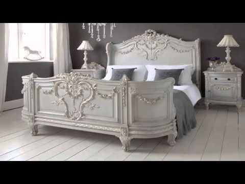 French style bedrooms غرف نوم طراز فرنسي   YouTube