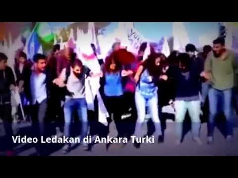 Video Ledakan di Ankara, Turki
