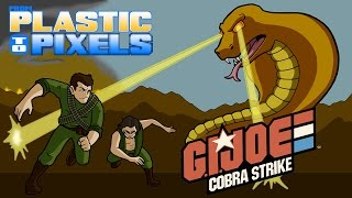 From Plastic to Pixels - G.I. Joe Cobra Strike (Atari 2600)