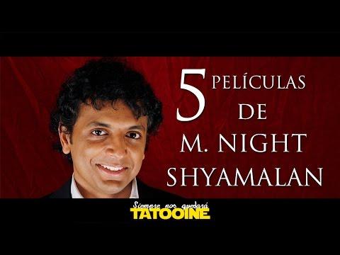 5 películas de M. Night Shyamalan para mirar el fin de semana!