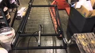 Banging pot and pan rack mechanism