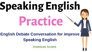 Speaking English Practice#English Debate Conversation about aliens and UFOs!