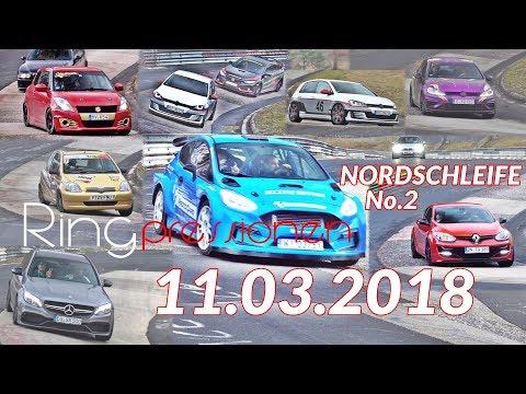 Nürburgring Nordschleife Touristenfahrten 11.03.18 Grüne HölleN SOUND \o/ Green Hell #no crash No2