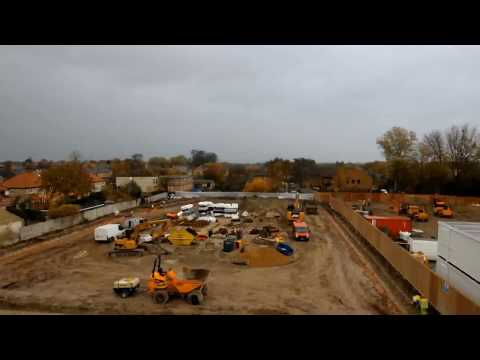 Watch Construction of The New Cambridge Mosque UK :: Time-Lapse Video