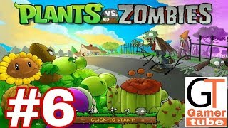 Plants vs. Zombies - Gameplay Walkthrough Part 6 world 3 Level 6-10 (Android)