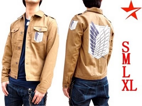 custom made attack on titan scout regiment jacket. Black Bedroom Furniture Sets. Home Design Ideas