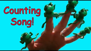 Frog Children's Song: Five Green And Speckled Frogs Counting Song For Kids & Toddlers | Patty Shukla