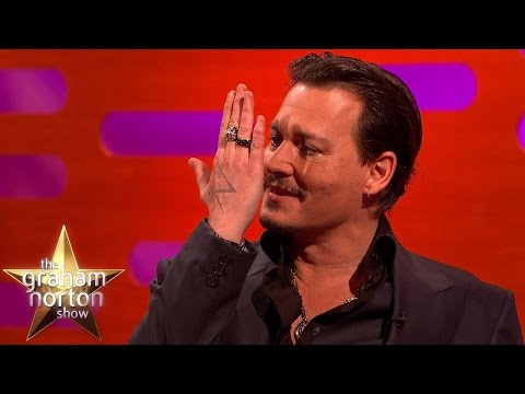 Johnny Depp Got Insulted By Iggy Pop  The Graham Norton