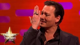 Johnny Depp Got Insulted By Iggy Pop - The Graham Norton Show